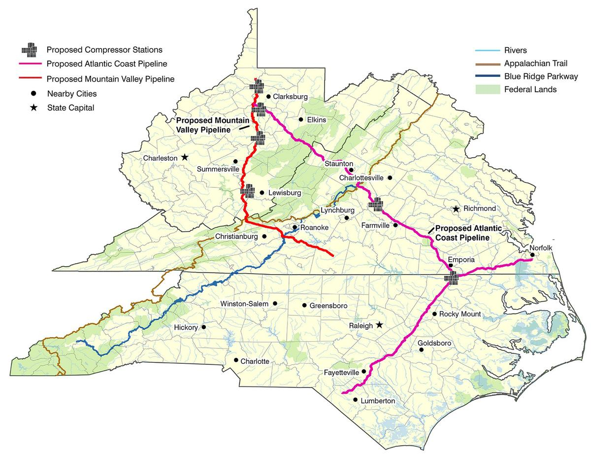 Can the Appalachian Trail Block a Natural Gas Pipeline ...