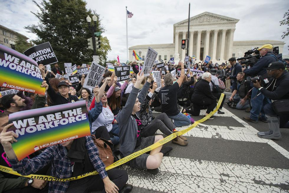 Supreme Court Considers Civil Rights Statutes as Tool to Protect LGBT Workers Against Job Discrimination - The American Prospect