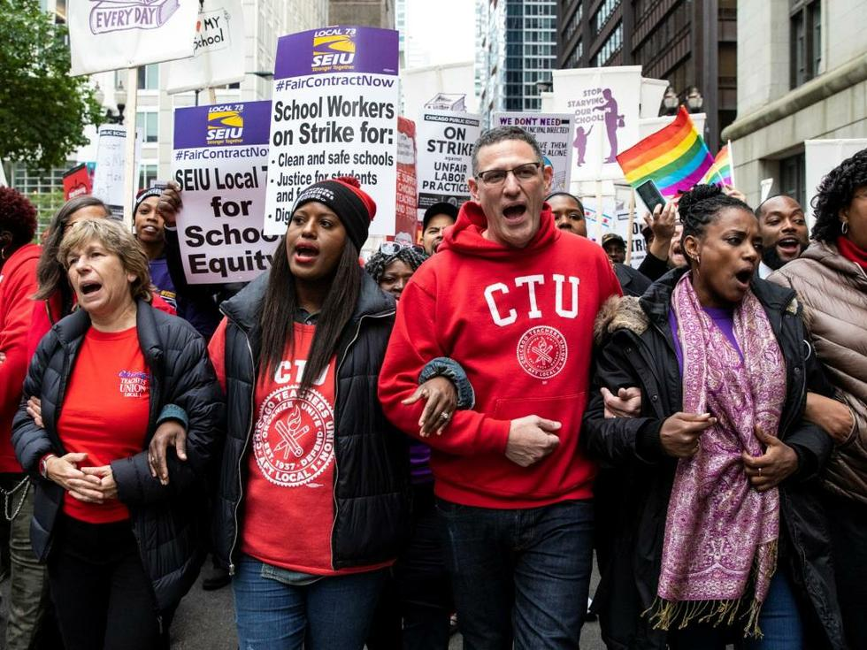 Chicago Teachers and Staff Walk Out for Community Needs - The American Prospect