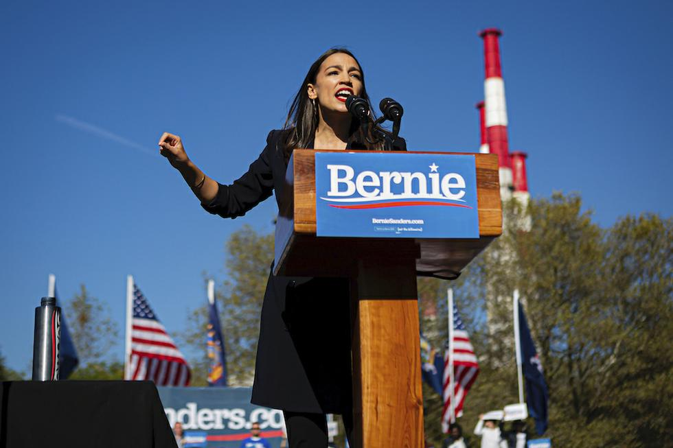 AOC officially endorses Bernie Sanders ahead of 2020