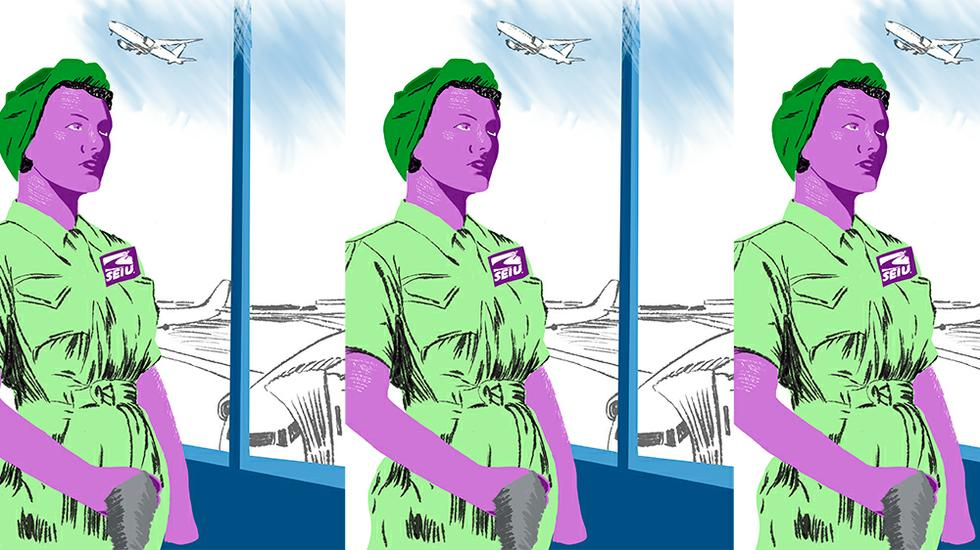 How One Local Union Is Doubling Wages for America's Airport Workers