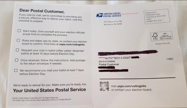 The Postal Mailer