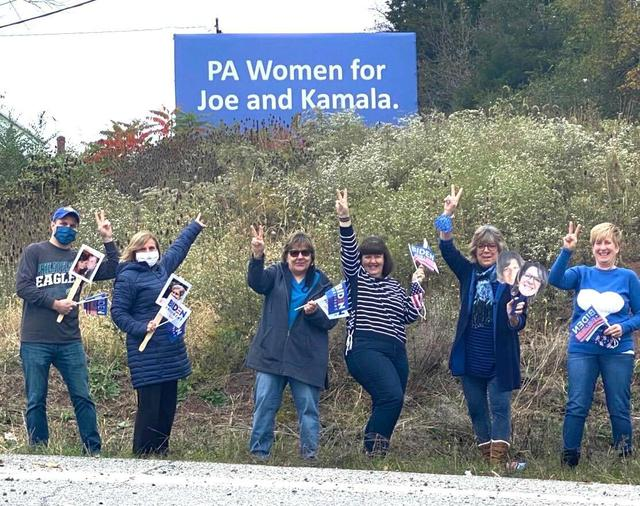 Brown-PA Women for Biden 103120.jpg