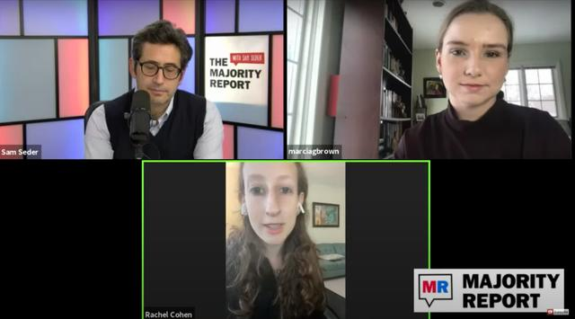 Marcia Brown and Rachel Cohen on The Majority Report with Sam Seder
