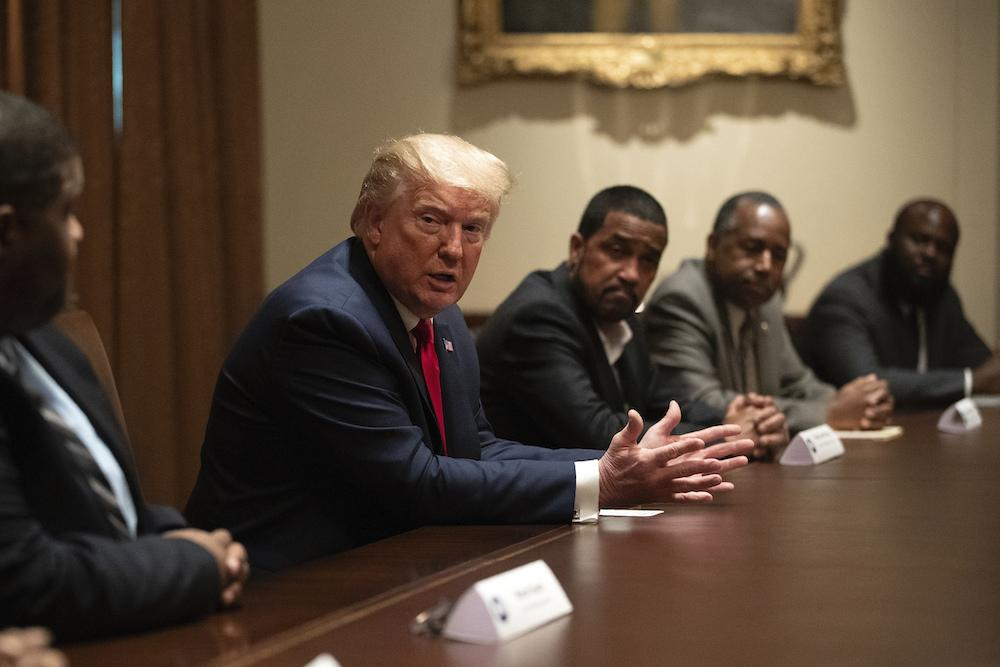 Black Men Support Trump Again
