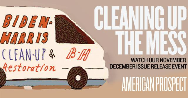 Cleaning Up the Mess: Watch Our Nov/Dec 2020 Issue Release Event