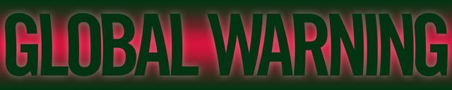 Global Warning banner