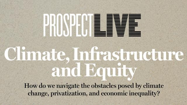 Climate, Infrastructure & Equity